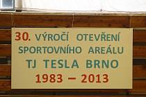 30. výročí TJ Tesla na Lesné v Brně.