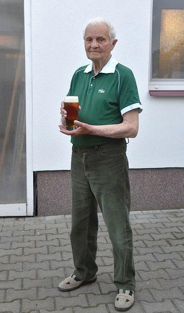 Nejstraší výčepní na jižní Moravě František Tesař.