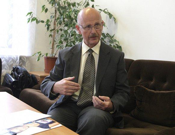 Ředitel Krajského centra osobní dopravy Brno Pavel Karšulín.