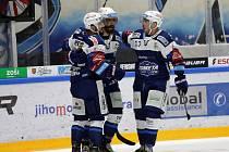 Hokejisté Komety se radují z nečekaně vysoké výhry nad Mladou Boleslaví.