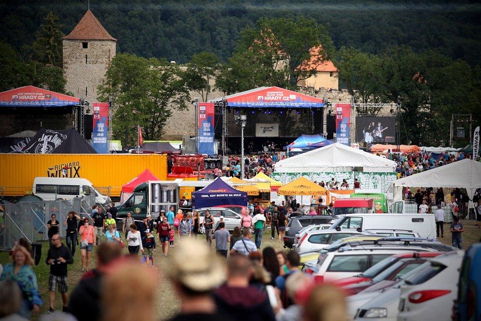 Festival Hrady.cz na Veveří.