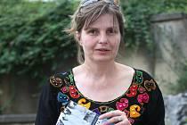 Novinářka a spisovatelka Petra Procházková předčítala Brňanům.
