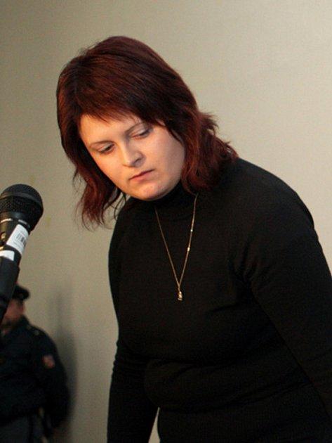 Kateřina Nováková u soudu.