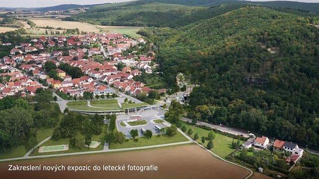 Nová plánovaná podoba brněnské zoo