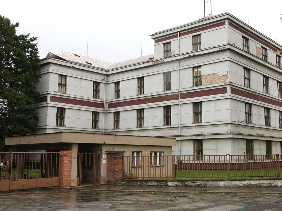 Brněnská kasárna v Černých Polích.