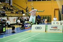 Brněnský badmintonista Adam Mendrek se chystal na olympijskou kvalifikaci v Asii.