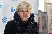 Olympijský festival v areálu brněnského výstaviště - bývalá biatlonová reprezentantka Jiřina Pelcová.