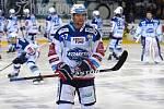 11.kolo extraligy ledního hokeje mezi domácí Kometou Brno (Jan Hruška) a Libercem.