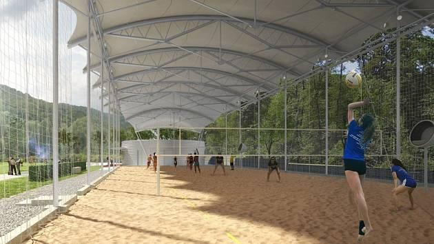 Sportovní investice roku? Beachvolejbalové kurty zakryje střecha za 50 milionů