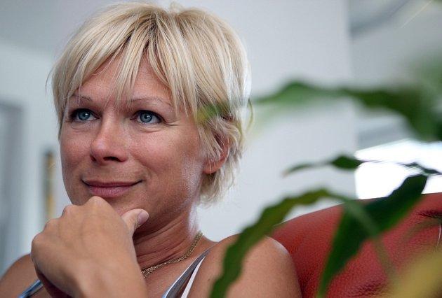 Sprintérka Erika Suchovská