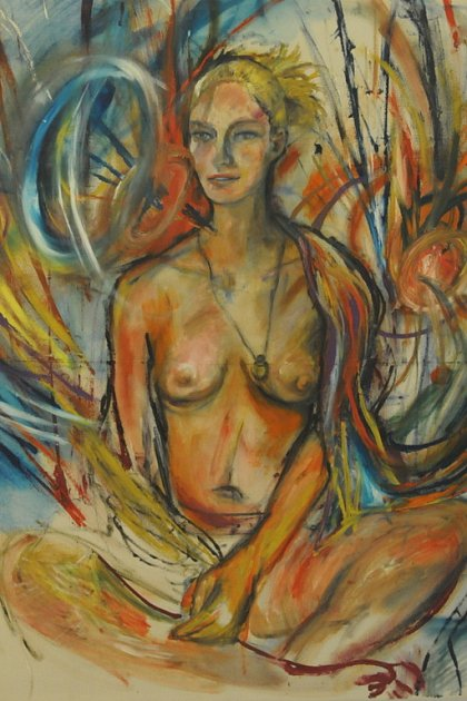Umění Tamary Černé a Massima D'Amica se setkává na výstavě v Redutě.