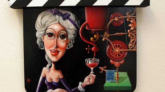 Výstava filmových klapek v Brně