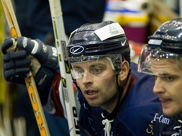 Hokejista Marek Vorel.