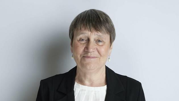 Anna Šabatová, senátorská kandidátka s podporou Zelených, Idealistů a hnutí Senátor 21 ve volebním obvodu číslo 60 Brno-město, která postoupila do druhého kola.