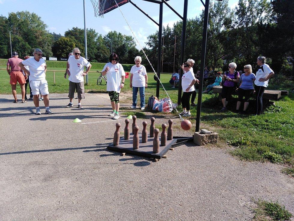 V Bystrci se v úterý konaly již deváté městské sportovní hry seniorů.
