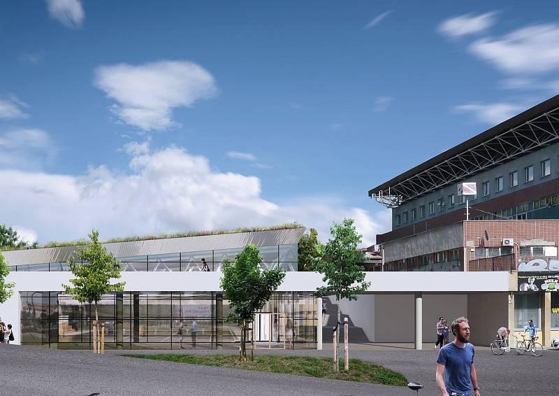 Nový pětadvacetimetrový bazén vyroste vedle stávajícího za Lužánkami.