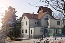 Vizualizace nové podoby Arnoldovy vily.