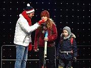 Olympijský festival v areálu brněnského výstaviště, stotisící návštěvník.