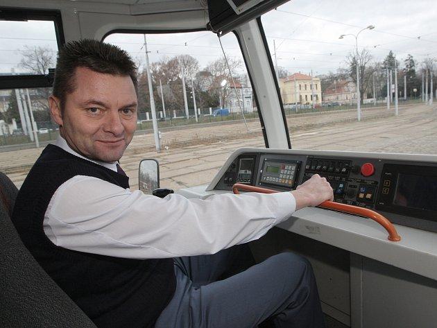 Generální ředitel Dopravního podniku města Brna Miloš Havránek.