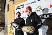 Lezkyně Aneta Loužecká na Dry Tool Cupu v Brně.