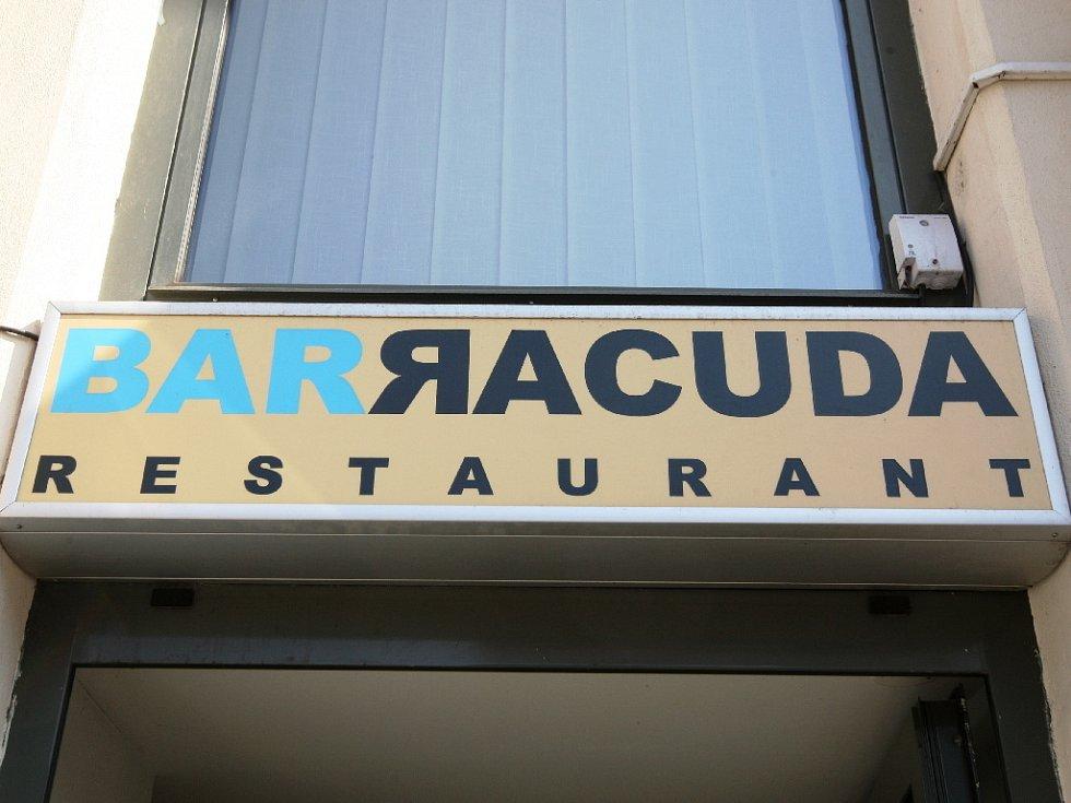 Restaurace Barracuda na Mojmírově náměstí v Králově Poli.