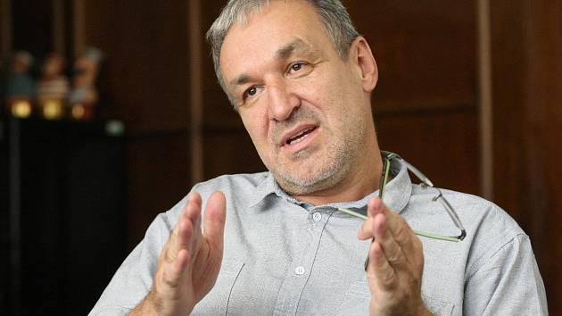 Ředitel Českého rozhlasu Brno Jaromír Ostrý.