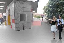 Vizualizace nové podoby konečné tramvají v brněnských Řečkovicích. Ilustrační foto.