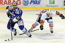 Brněnští hokejisté pět minut před koncem zápasu s Pardubicemi vedli, nakonec berou jen bod.