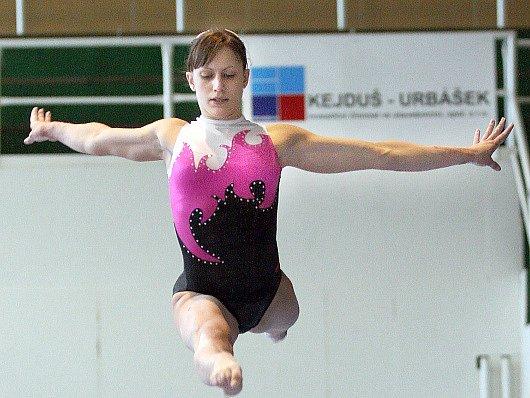 Gymnastka Kristýna Pálešová
