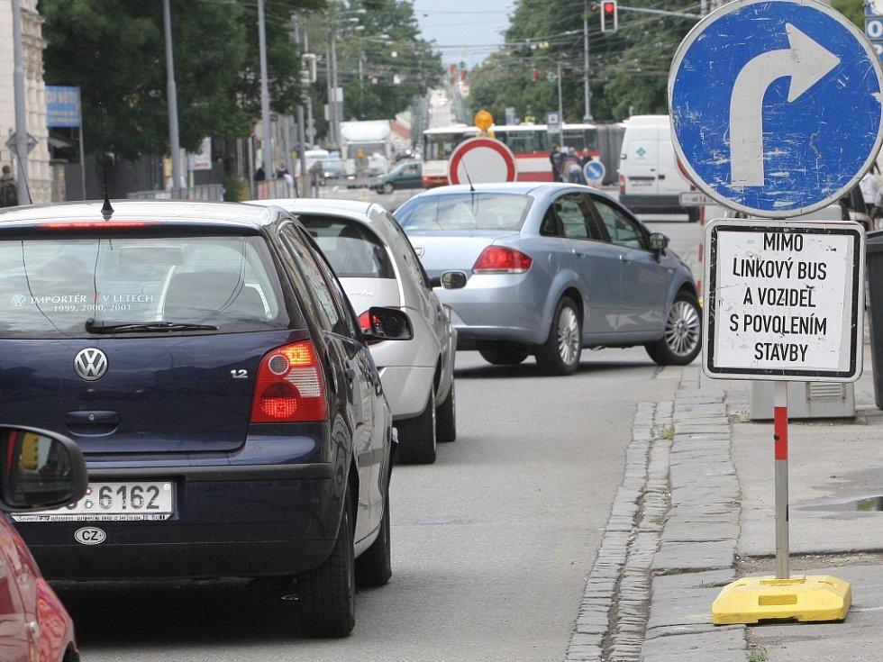 Doprava ve městě Brně.