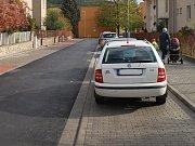 Opravená tišnovská Kvapilova ulice.