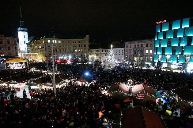 Brno, náměstí Svobody.