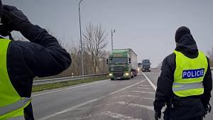 Kontrolní akce jihomoravských policistů a Celní správy zaměřená na nelegální migraci