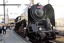 ILUSTRAČNÍ FOTO: Parní lokomotiva Šlechtična.