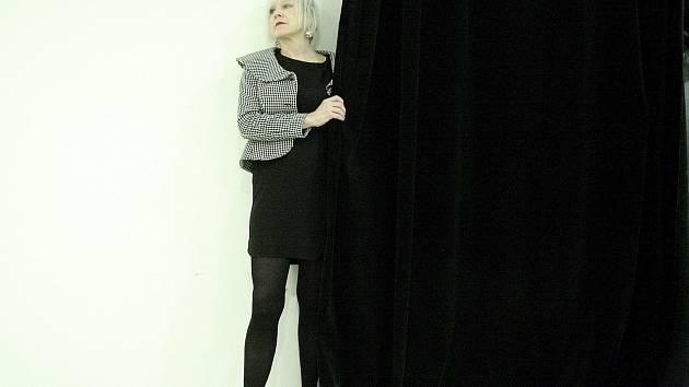 Brněnská herečka Simona Peková.
