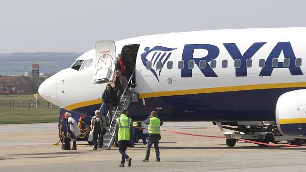 Slavnostní otevření nové letecké linky Brno - Berlín
