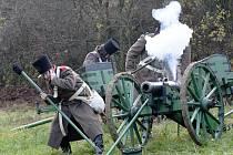 Filmové natáčení bitvy u Slavkova v Němčanech