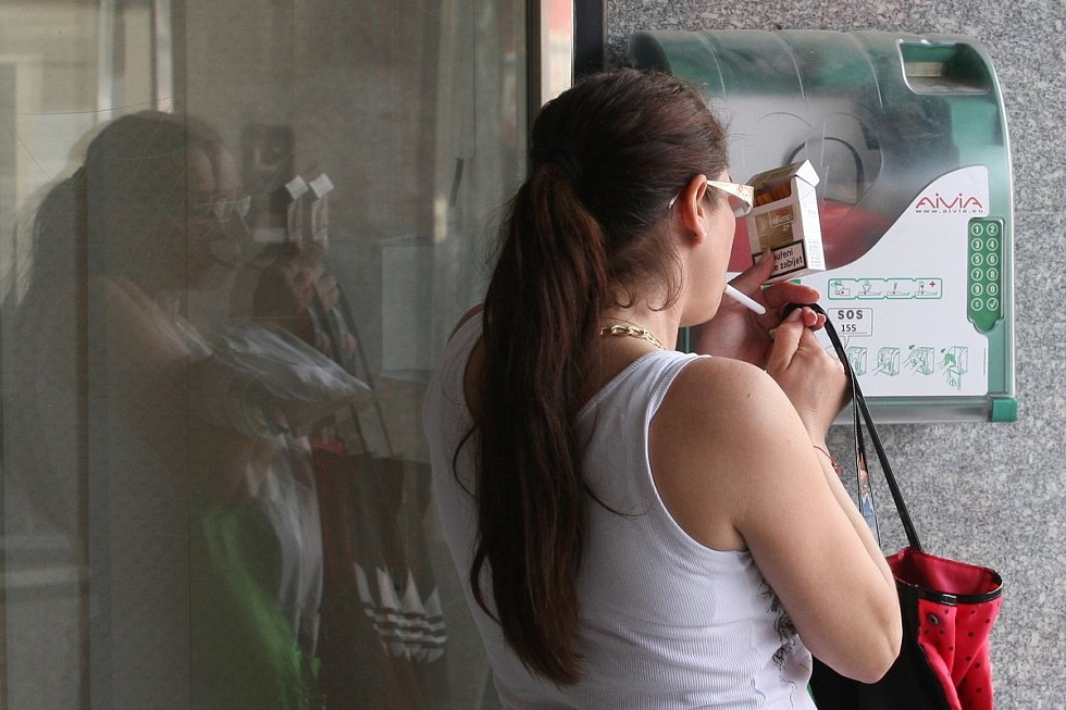 Defibrilátor na náměstí Svobody.
