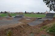 Nový skatepark v brněnských Tuřanech