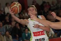 Basketbalistky IMOS Brno (na snímku Hana Horáková).