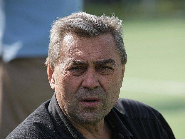 Legenda brněnského fotbalu Karel Kroupa.