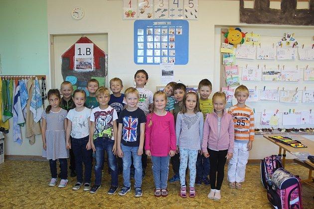 Žáci třídy 1.B ZŠ Střelice