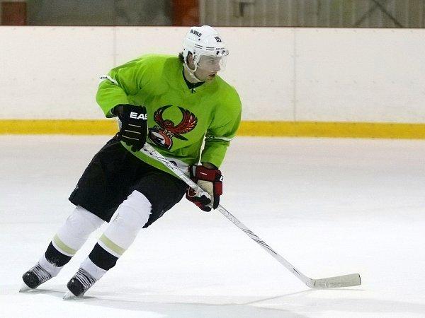 Hokejista Petr Sýkora se připravuje shokejisty druholigové Techniky Brno, ale vyhlíží prosincový start NHL.