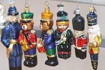 Expozice vánočních ozdob Skleněná krása.