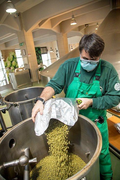 Zelené pivo lidé ochutnají na Zelený čtvrtek.