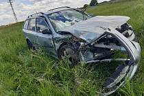 Auto je po nehodě neopravitelné.