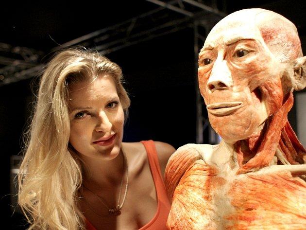 Slavnostní otevření výstavy Bodies Revealed v brněnské Galerii Vlněna.