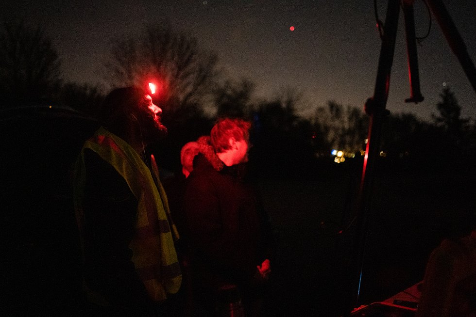 V Brně vypnuli v noci na sobotu na pár hodin veřejné osvětlení. Představitelé města chtějí zjistit, co způsobuje v Brně světelný smog.