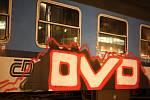 Policisté dělali v úterý ve večerních hodinách kontrolu na brněnském vlakovém nádraží. Často se tam vyskytují sprejeři.