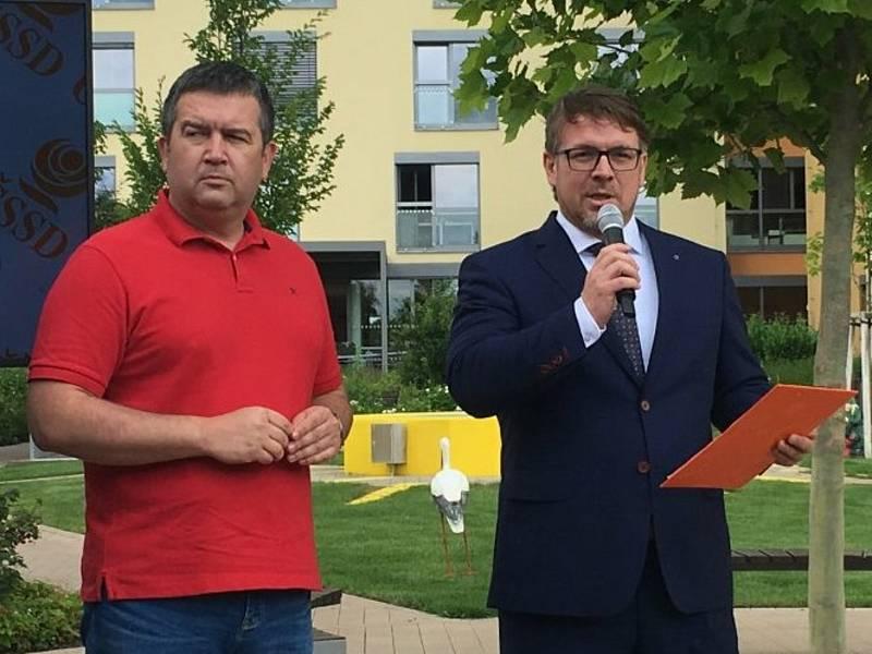 Sociální demokraté na jižní Moravě. Ilustrační foto.